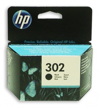 F6U66AE  HP INK BLACK No.302 190pages